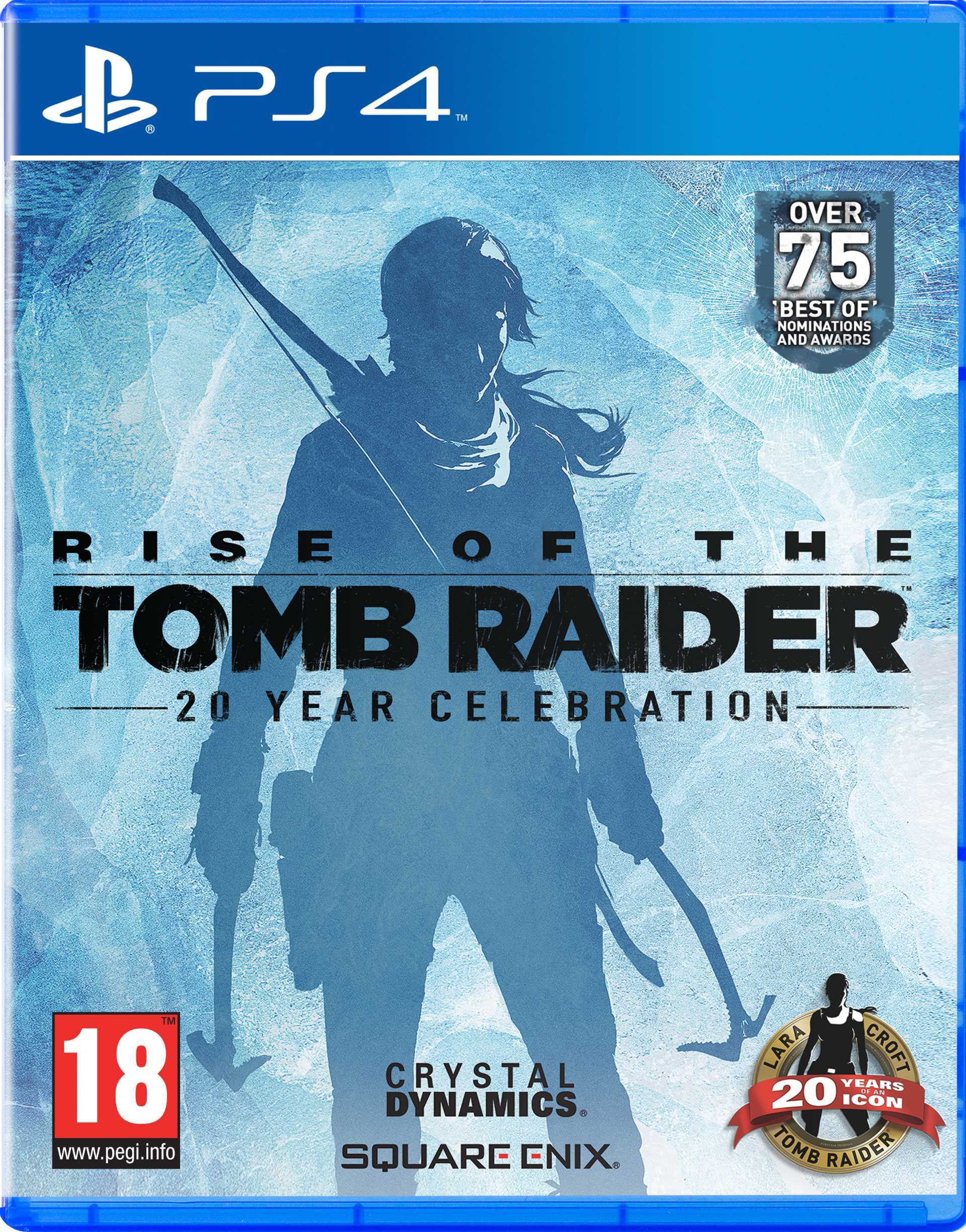 Rise of the Tomb Raider PS4 packshot