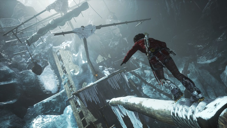 Rise of the Tomb Raider - ice