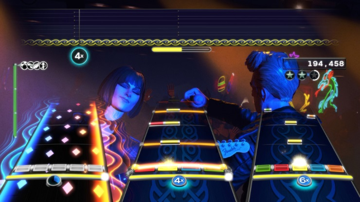 Rock Band 4 full band