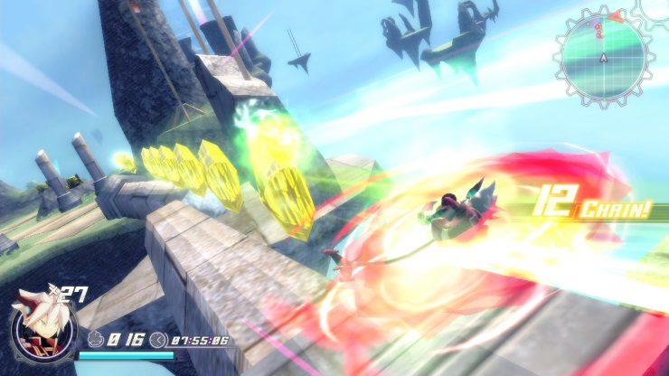 Rodea screenshot