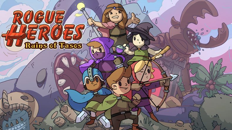 Rogue Heroes: Ruins of Tasos main