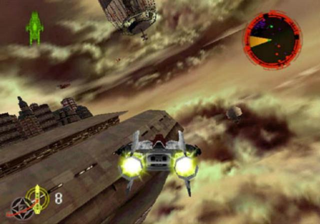 Rouge Squadron - Screenshot