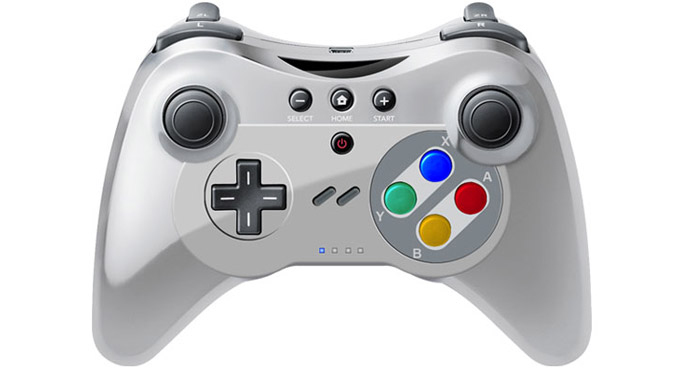 Third Party Wii U Pro Controller Gives Nod to the SNES