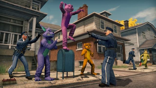 Saints Row: The Third - Crazy Furries
