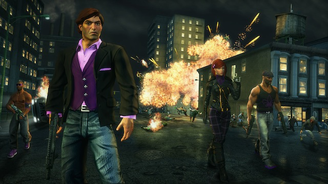 Saints Row: The Third - Movie Poster Explosion