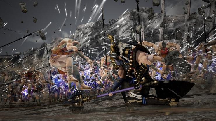 Samurai Warriors 4 - rage