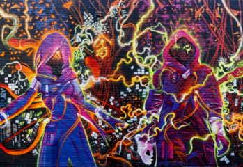 Scarlet Nexus Street Art news