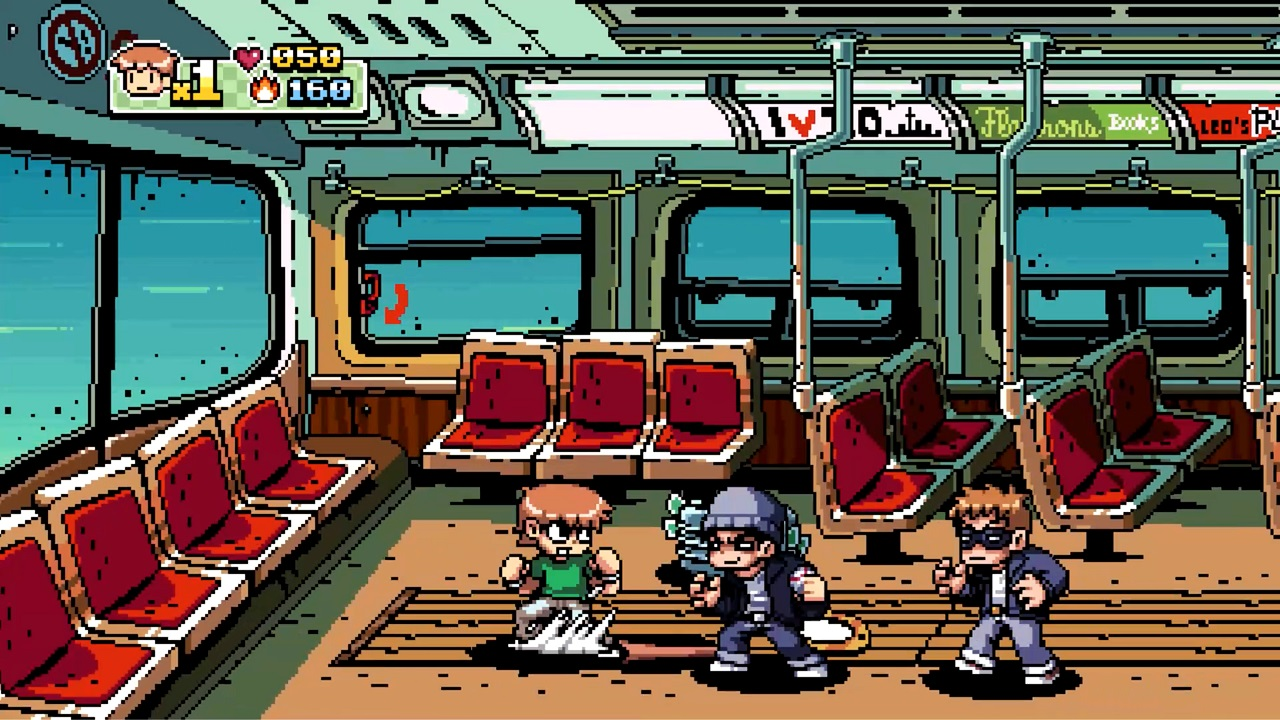 Scott Pilgrim vs the World: The Game - Complete Edition Train