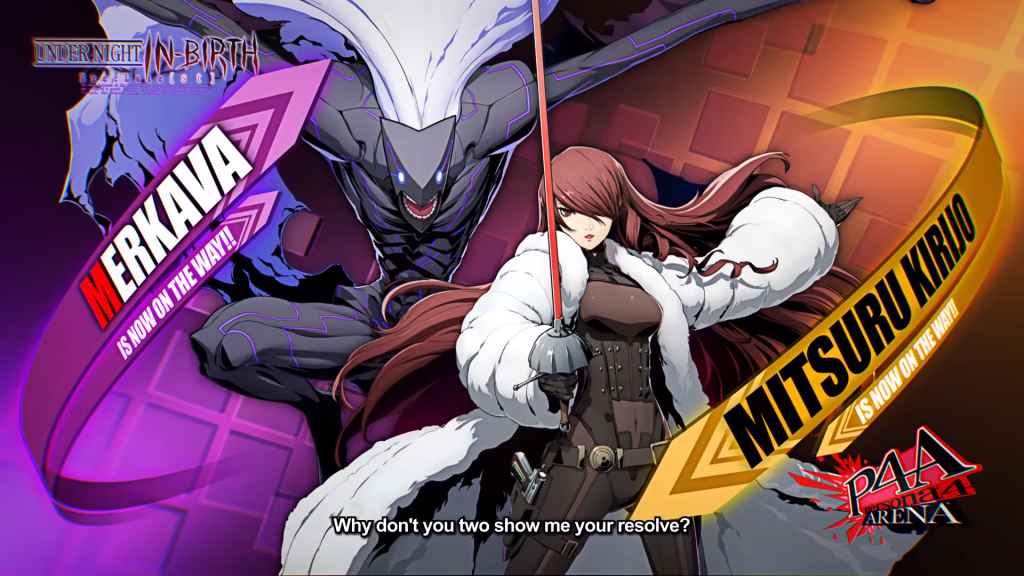 BlazBlue Cross Tag Battle Character Packs 4,5, and 6 release on