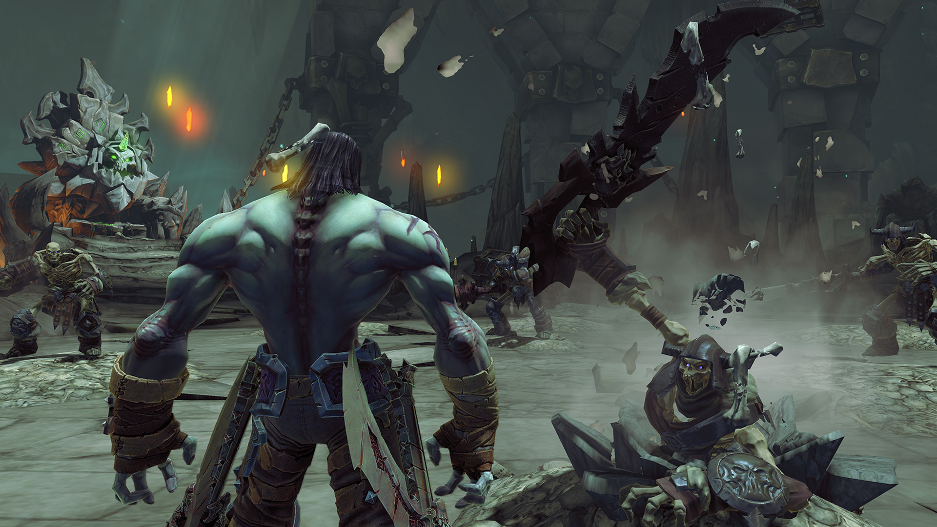 Darksiders II Deathinitive Edition Comparison Screens - GodisaGeek.com