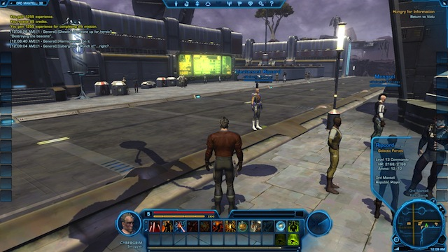 Star Wars: The Old Republic - CyberGrim in Ord Mantell