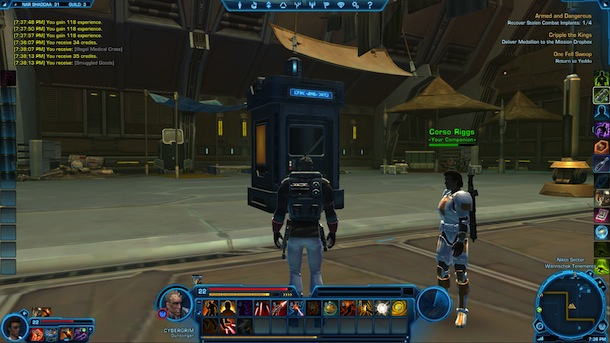 Star Wars: The Old Republic - CyberGrim and the T.A.R.D.I.S.