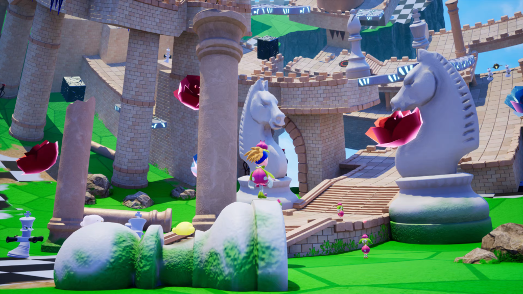 A screenshot of Balan Wonderworld