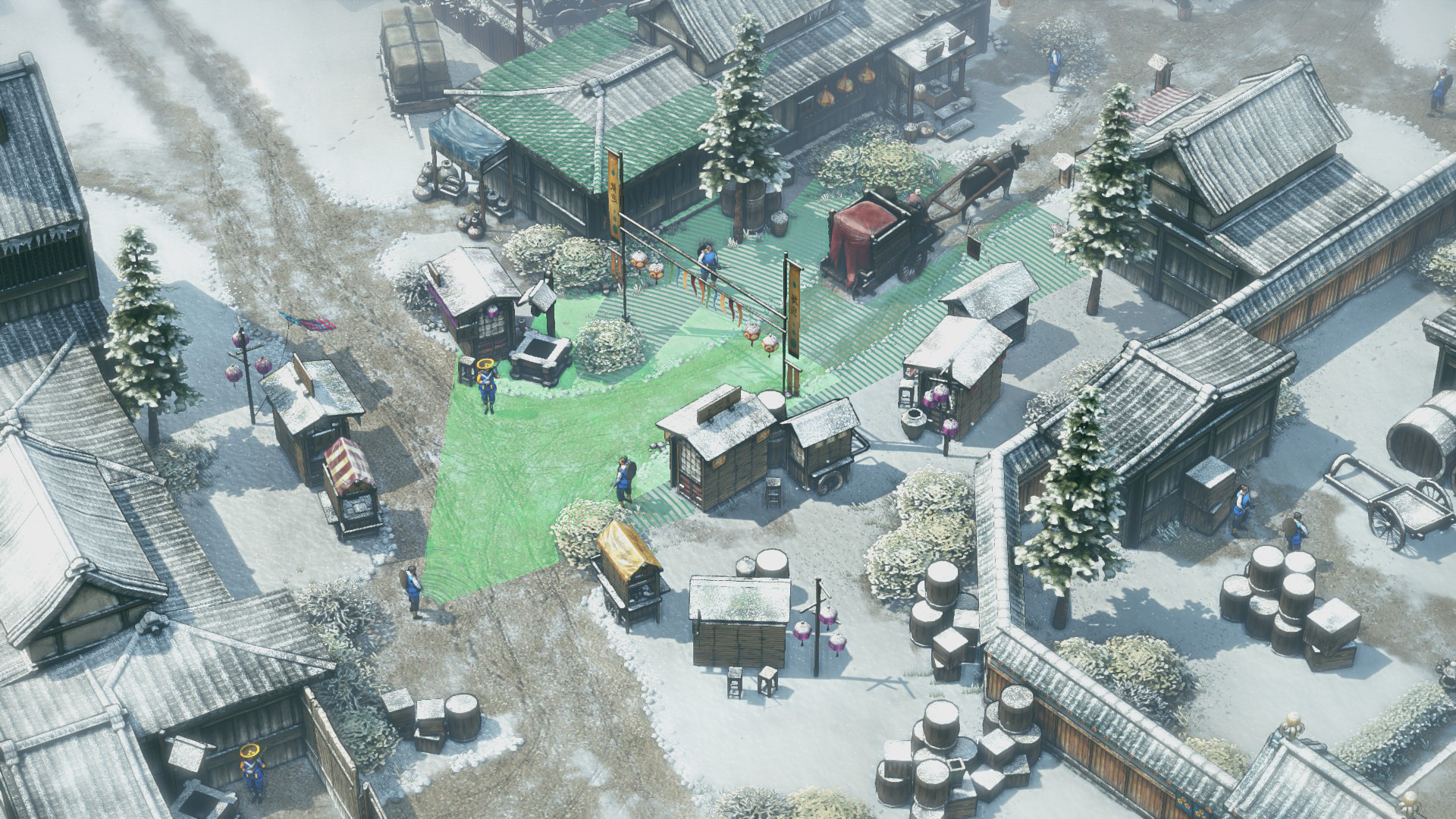 Shadow Tactics Blades of the Shogun screenshot 1