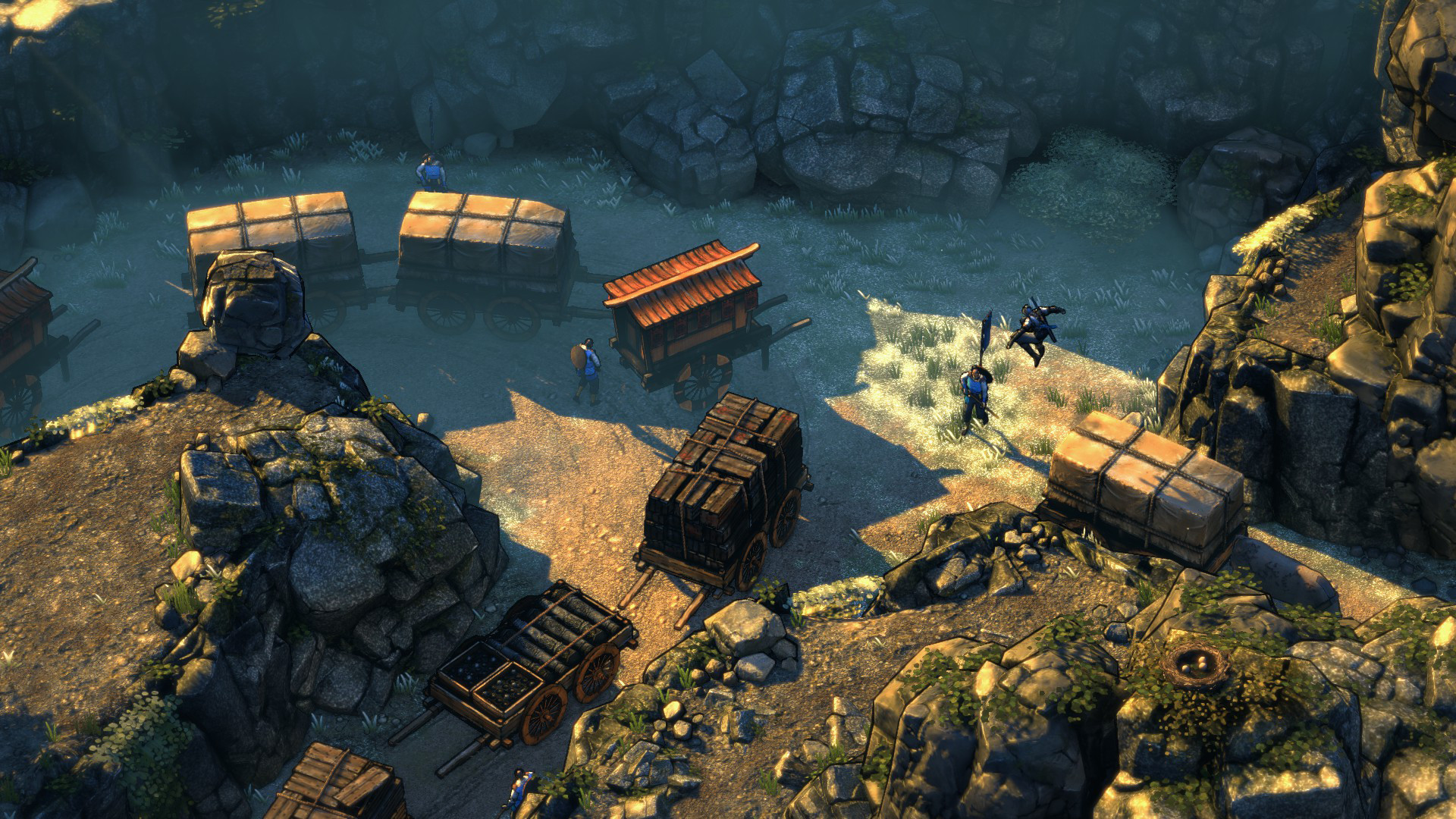 Shadow Tactics Blades of the Shogun screenshot 2