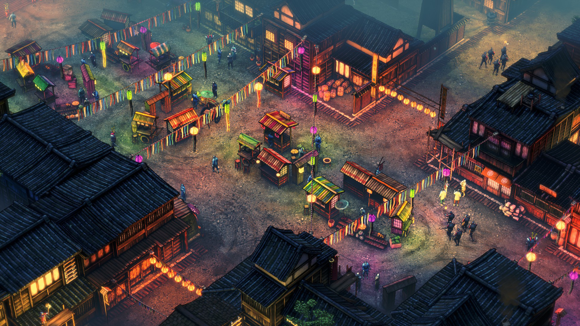 Shadow Tactics Blades of the Shogun screenshot