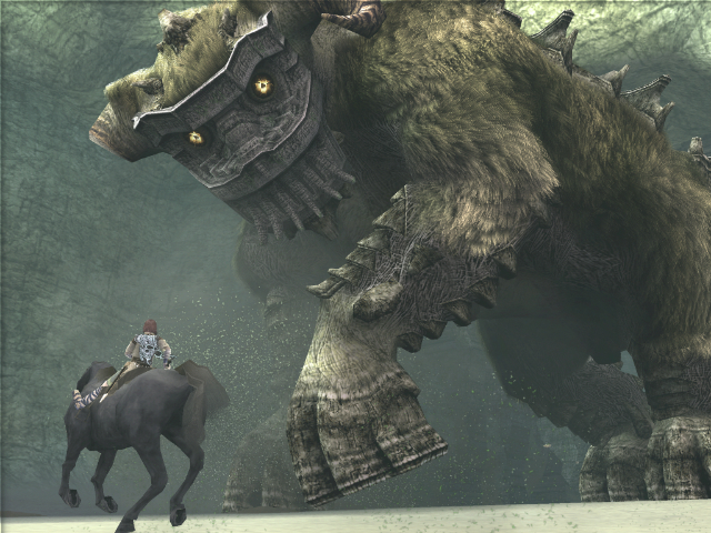 Shadow of the Colossus - Walking