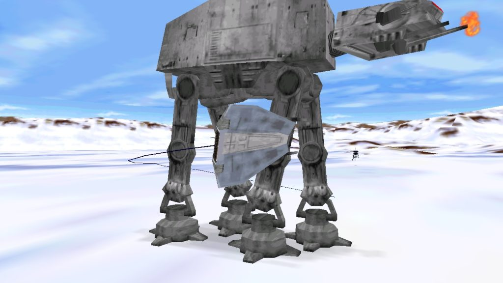 Shadow of the Empire Hoth battles were so much fun