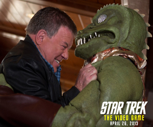 Kirk Vs The Gorn Returns in Star Trek: The Video Game