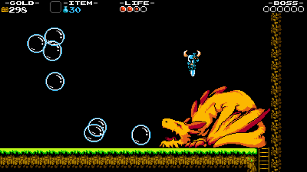 Shovel Knight boss