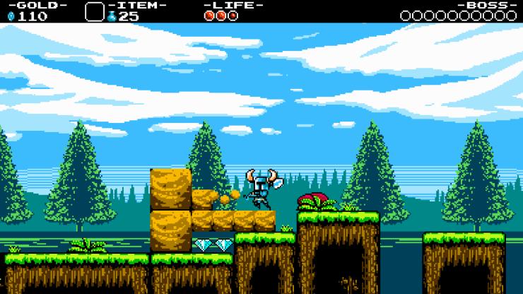 Shovel Knight gameplay