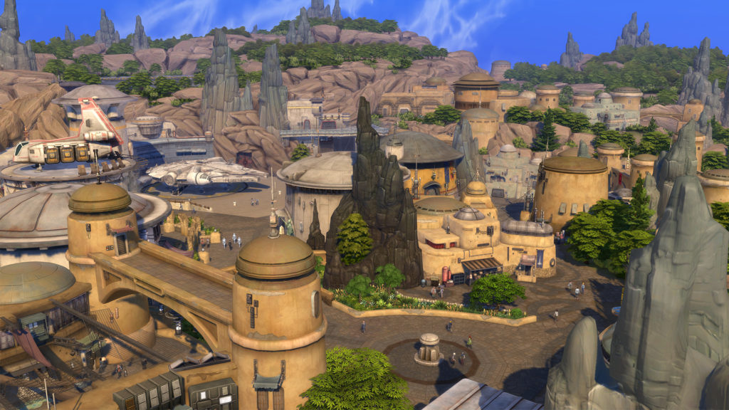 The Sims 4: Journey to Batuu DLC