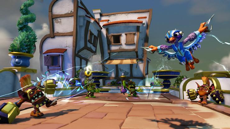 Skylanders SuperChargers Storm Blade