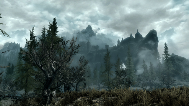 Skyrim - Solitude Marsh