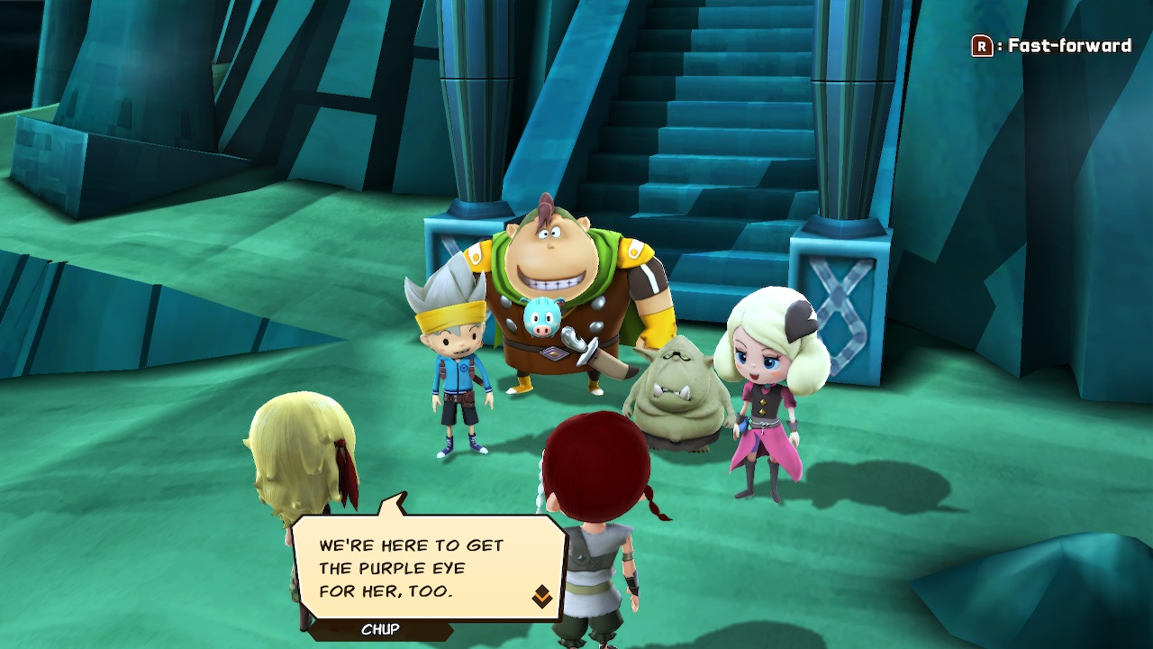 A screenshot from Snack World: The Dungeon Crawl - Gold