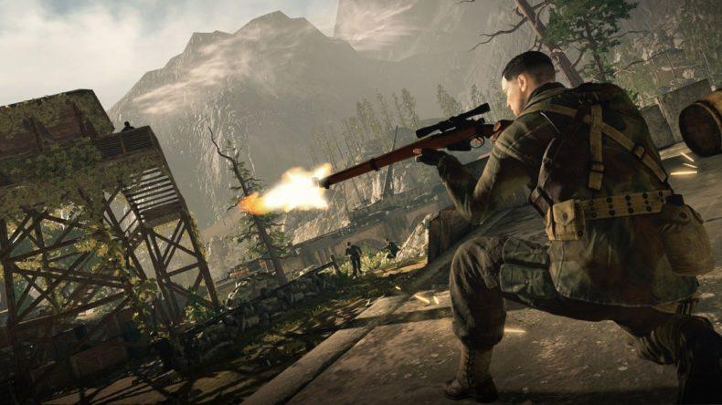 Sniper Elite 4 Switch