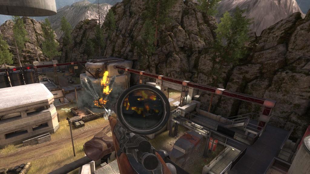 Sniper Elite VR review