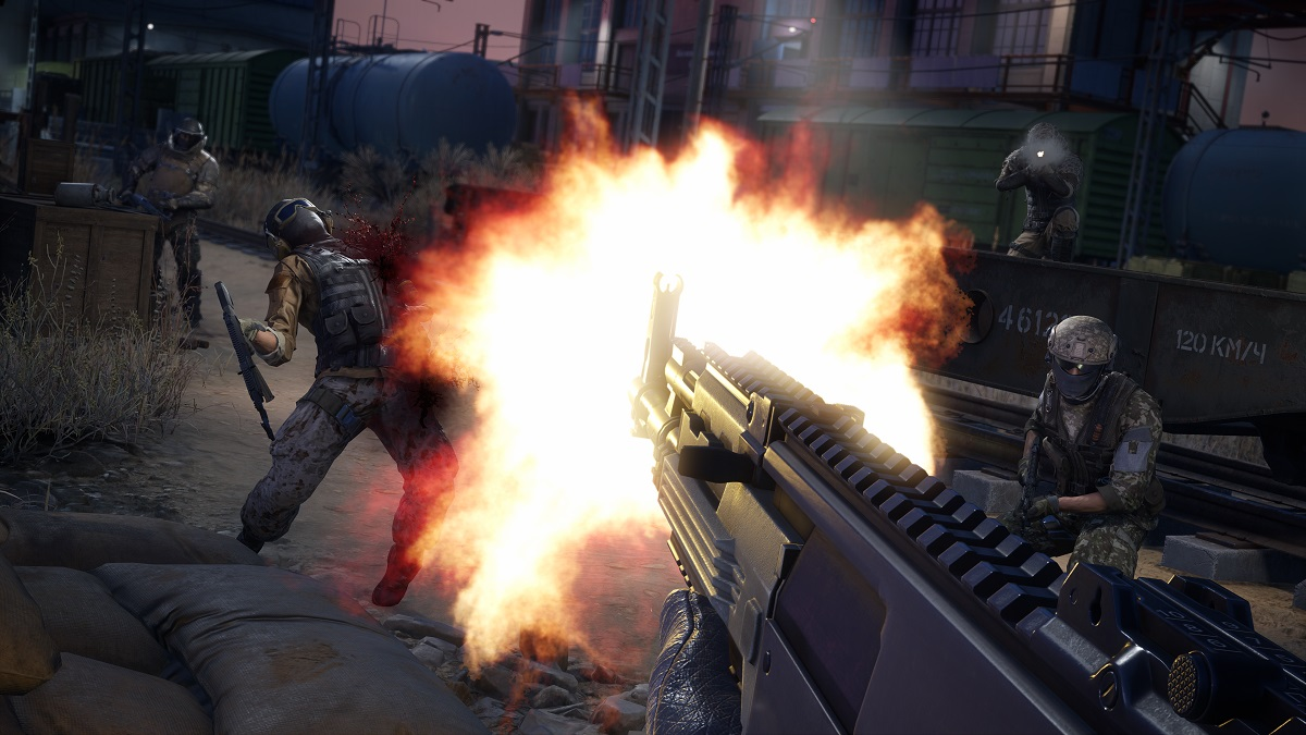 Sniper Ghost Warrior Contracts 2 Fire fight
