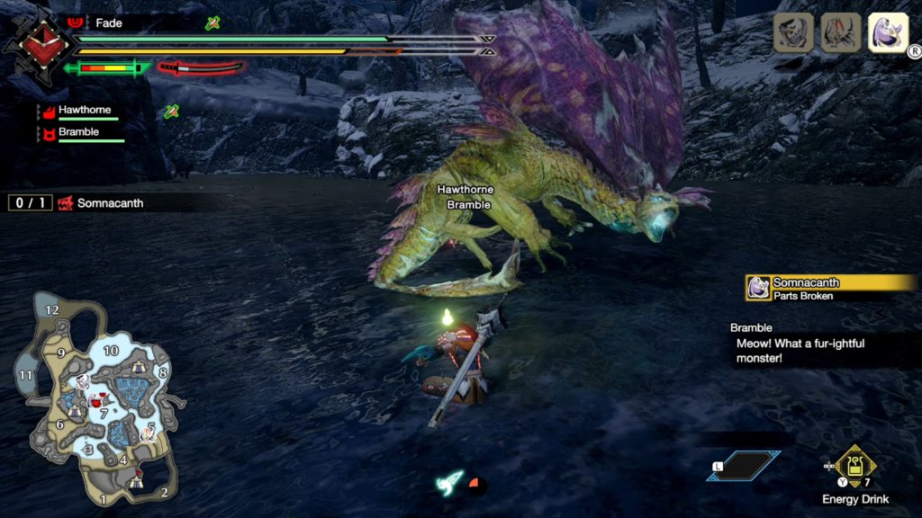 Monster Hunter Rise   How to beat Somnacanth