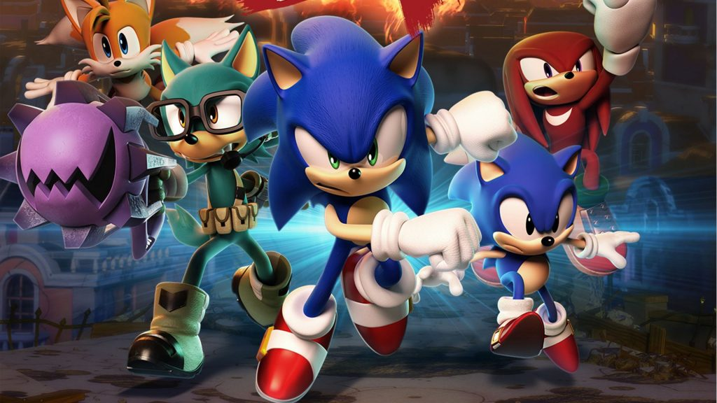 watch some sonic forces tag team gameplay with a new song