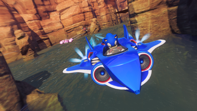 Sonic & All-Stars Racing Transformed - Plane