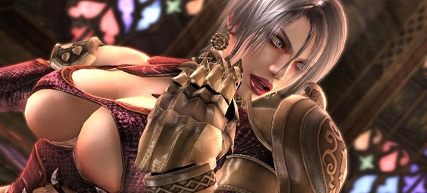 Hilde Returns in Soul Calibur Lost Swords