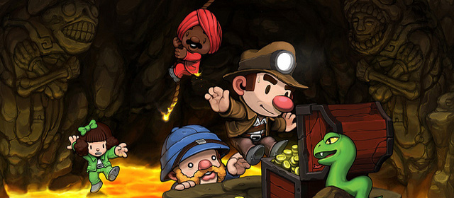 Spelunky Featured