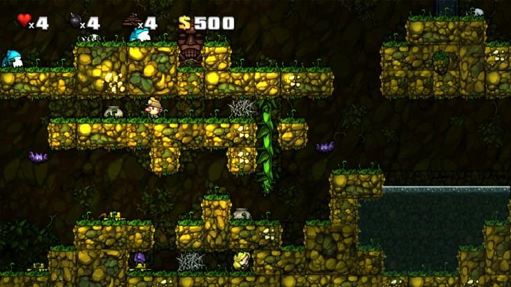 Spelunky Screen Jungle