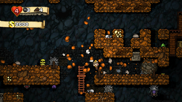 Spelunky - Cave-In