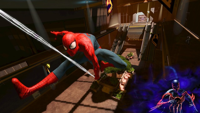 Spider-Man: Edge of Time - Swinging