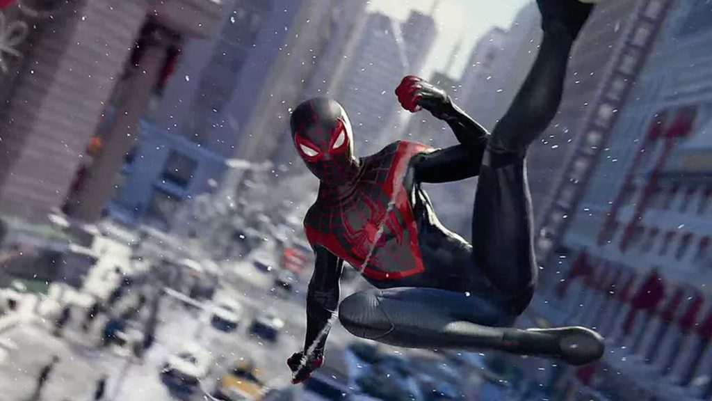 Miles Morales will launch of PS5 in November