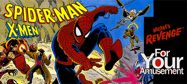 For Your Amusement: Spider-Man and the X-Men in Arcade's Revenge