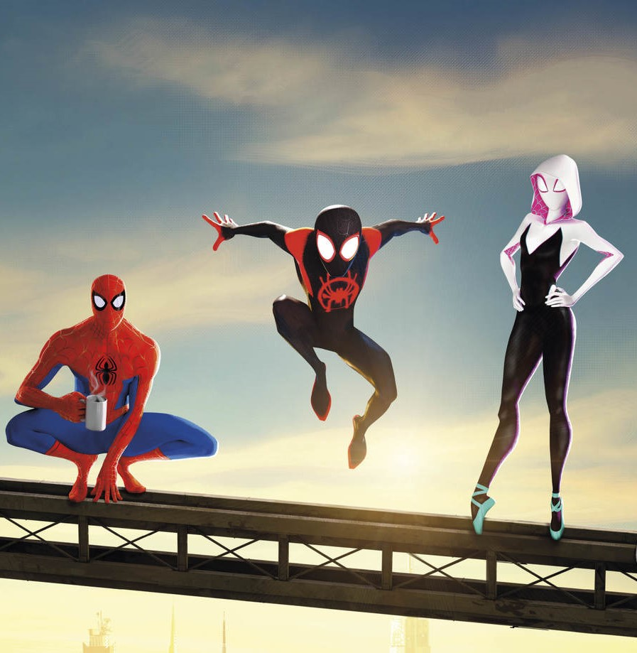 New Poster Amp Sneak Peek Unveiled For Spider Man Into The