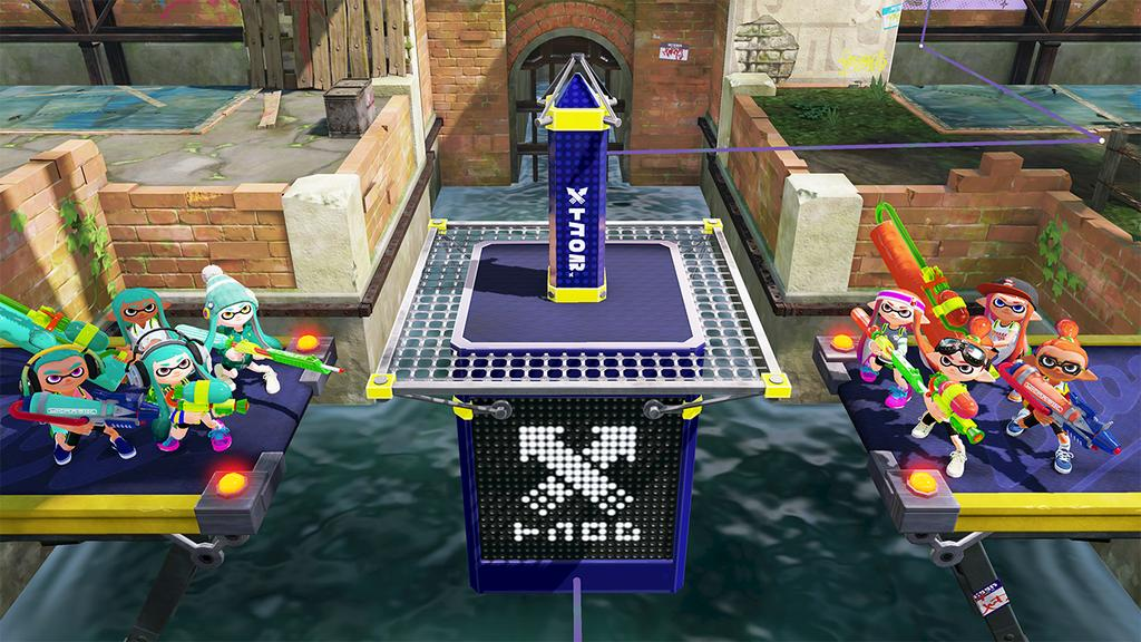 Splatoon Tower Mode