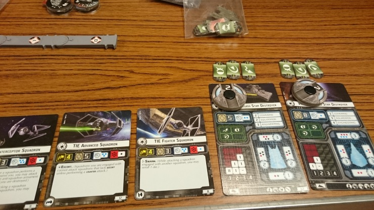 Star Wars Armada Miniatures Board Game Review