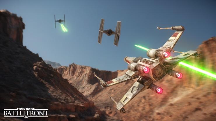 Star Wars Battlefront X-wing