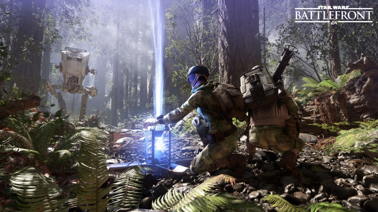Star Wars Battlefront shield