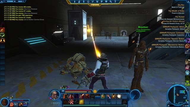 Star Wars: The Old Republic - Showing Off