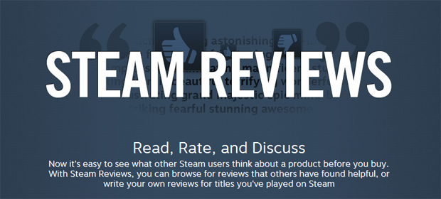 Have Your Say on PC Games With Steam Reviews