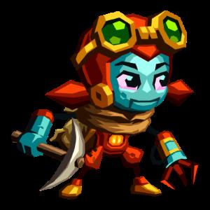SteamWorld-Dig-2-Dorothy-Main-Character